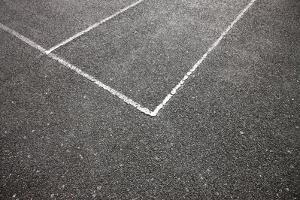 Tennis Court by Richard Newstead