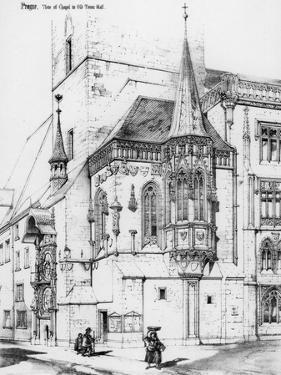 The Chapel in the Old Town Hall, Prague, Czech Republic, 19th Century by Richard Norman Shaw