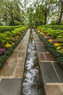 Bellingrath Museum Home, a Garden Path and Water Course by Richard Nowitz