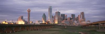 Dallas Skyline at Dusk by Richard Nowitz