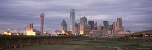 Dallas Skyline at Dusk by Richard Nowitz