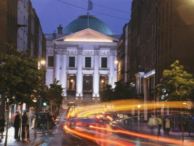 Dublin City Hall at Night
