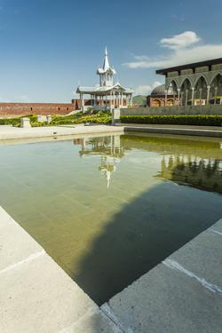 Gazebo with a Fountain in the Rabat Fortress by Richard Nowitz