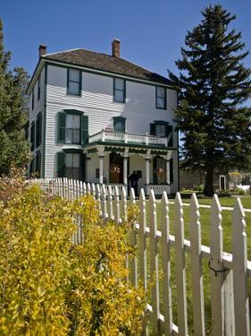 Historic Healy House Museum in Leadville, Colorado by Richard Nowitz