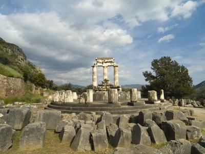 Sanctuary of Athena in Delphi