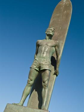 Santa Cruz, California, Statue of Surfer by Richard Nowitz