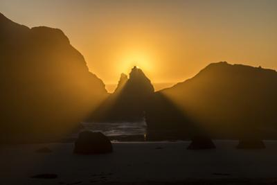 Sisters Rocks State Park along the Oregon Coastal Highway. by Richard Nowitz
