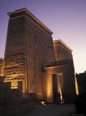 Temple of Philae at Agilka Island, Egypt by Richard Nowitz