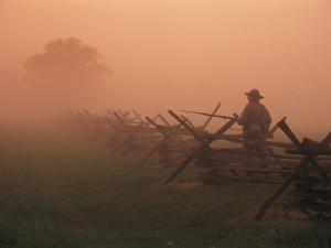 The Civil War Battlefield at New Market, Virginia by Richard Nowitz