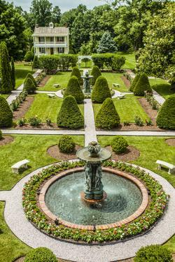 The Garden at Antrim 1844, a Restored Plantation House in Taneytown, Maryland by Richard Nowitz