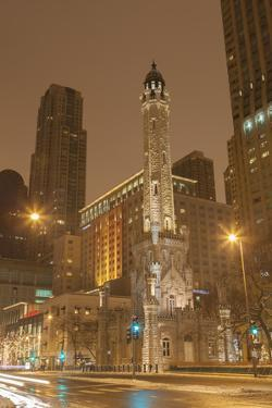 The Historic Chicago Water Tower, on Michigan Ave in the Magnificent Mile, 2013 by Richard Nowitz