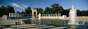 The Pacific Pavilion and Pillars at the World War II Memorial by Richard Nowitz