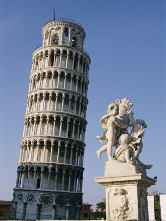 View of the Famous Leaning Tower of Pisa by Richard Nowitz