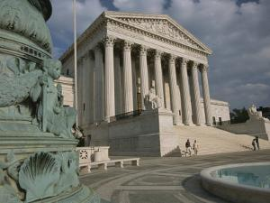 View of the United States Supreme Court by Richard Nowitz