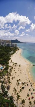 View of Waikiki Beach to Diamond Head by Richard Nowitz