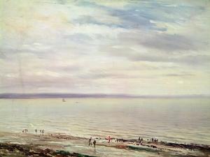 At the Seaside by Richard Parkes Bonington