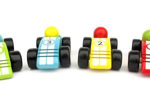 Wooden Toys Race Cars by Richard Peterson