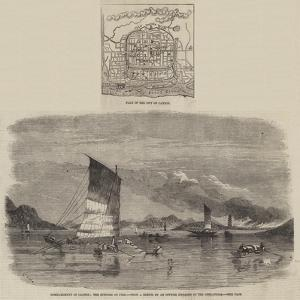Bombardment of Canton by Richard Principal Leitch