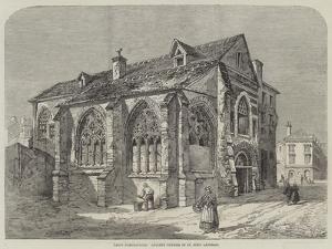 Paris Demolitions, Ancient Church of St John Lateran by Richard Principal Leitch