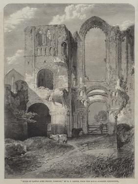 Ruins of Castle Acre Priory, Norfolk by Richard Principal Leitch