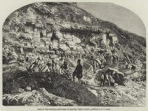 Scene of the Geological Discoveries at Swanage, Dorset by Richard Principal Leitch