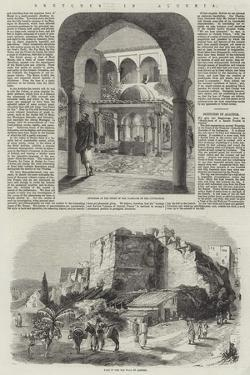 Sketches in Algeria by Richard Principal Leitch