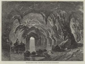The Blue Grotto at Capri by Richard Principal Leitch