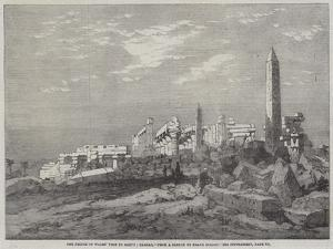 The Prince of Wales' Visit to Egypt, Carnac by Richard Principal Leitch