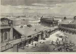 The Royal Visit to India, the Taj Mahal, from the Fort, Agra by Richard Principal Leitch