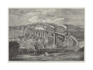 Thr Royal Albert Viaduct at Saltash by Richard Principal Leitch