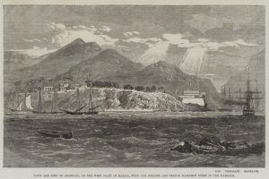 Town and Fort of Acapulco by Richard Principal Leitch
