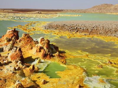 Dallol Geothermal Brine Hot Springs, Ethiopia
