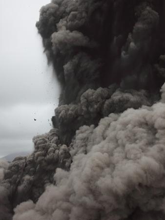 Eruption and Ash Cloud of Yasur Volcano, Vanuatu