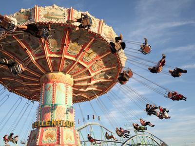 Fairground Ride, Munich, Germany