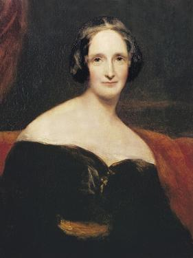 Mary Wollstonecraft Shelley by Richard Rothwell