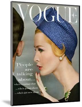Vogue Cover - April 1959 by Richard Rutledge