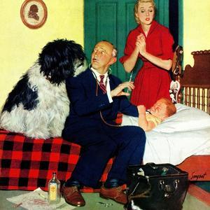 """Dr. and the Dog"", November 21, 1953 by Richard Sargent"