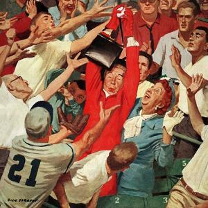 """Grandma Catches Fly-ball,"" April 23, 1960 by Richard Sargent"