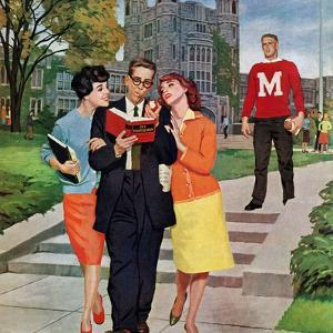 """Picking Poindexter"", October 17, 1959 by Richard Sargent"
