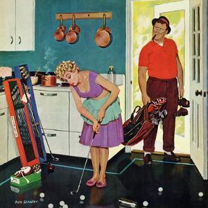 """Putting Around in the Kitchen,"" September 3, 1960 by Richard Sargent"