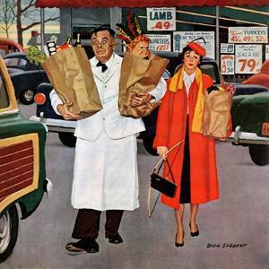 """Sack Full of Trouble"", April 14, 1956 by Richard Sargent"
