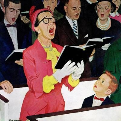 """""""Singing Praise"""", March 7, 1959 by Richard Sargent"""
