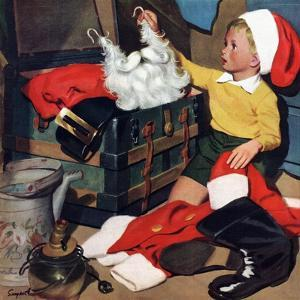 """Truth About Santa"", December 15, 1951 by Richard Sargent"