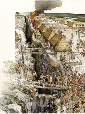 Aguateca, the Last Stronghold of an 8th-Century A.D. Kingdom by Richard Schlecht