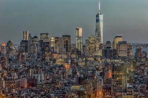 Downtown Skyline 12 by Richard Silver