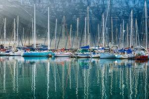 Hout Bay Harbor, Hout Bay South Africa by Richard Silver