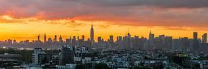 Manhattan Skyline from Brooklyn by Richard Silver
