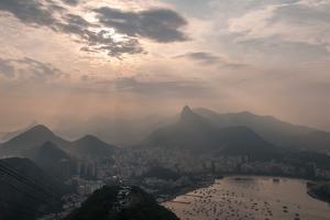 Sugar Loaf, Rio de Janeiro, Brazil by Richard Silver