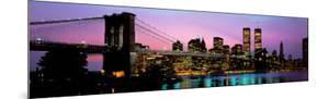 Brooklyn Bridge and New York City Skyline by Richard Sisk
