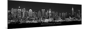 Manhattan at Night, New York City by Richard Sisk